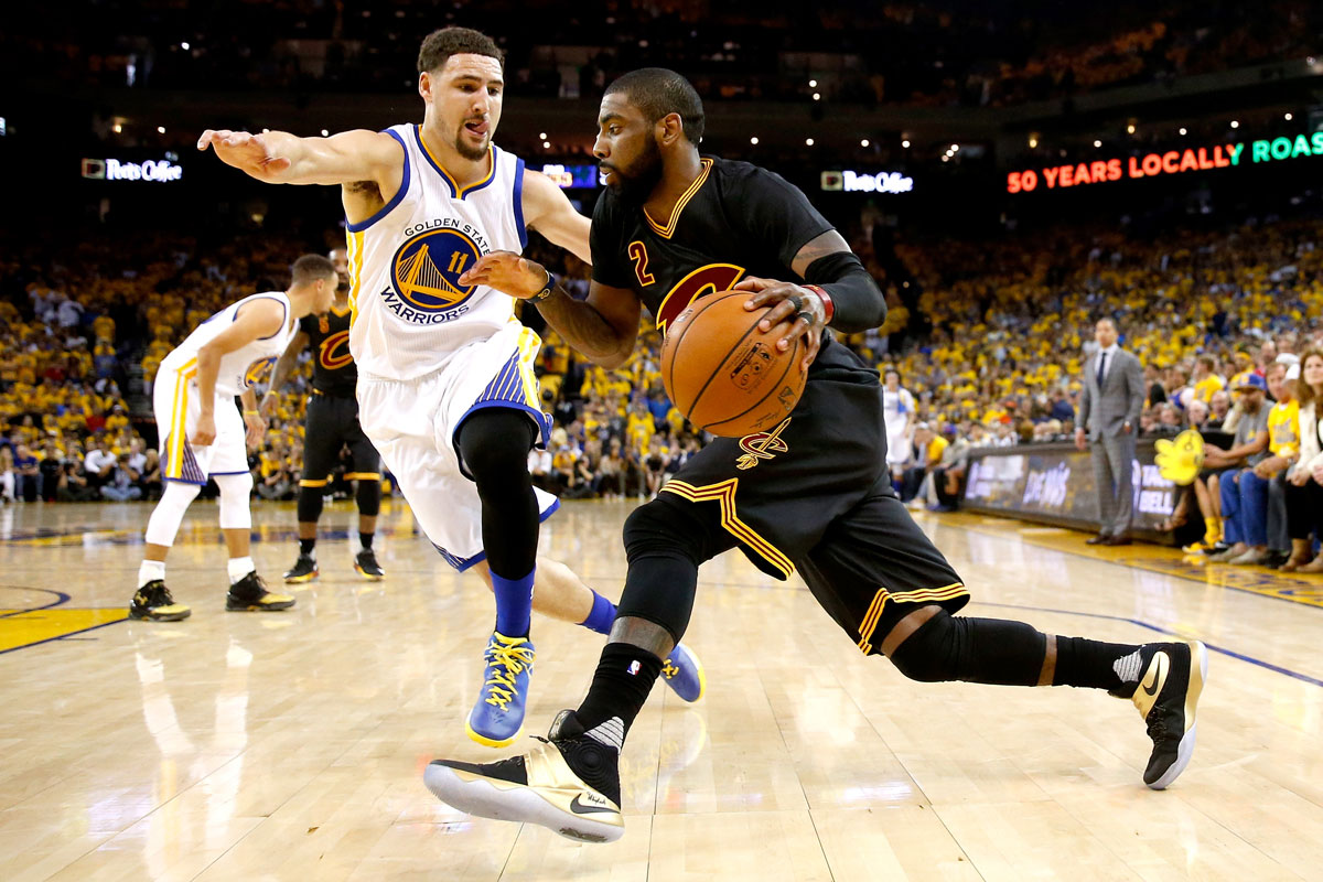 Kyrie Irving vs. Klay Thompson