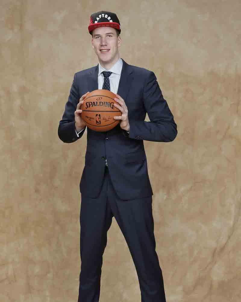 9. Pick: Jakob Pöltl (Toronto Raptors)