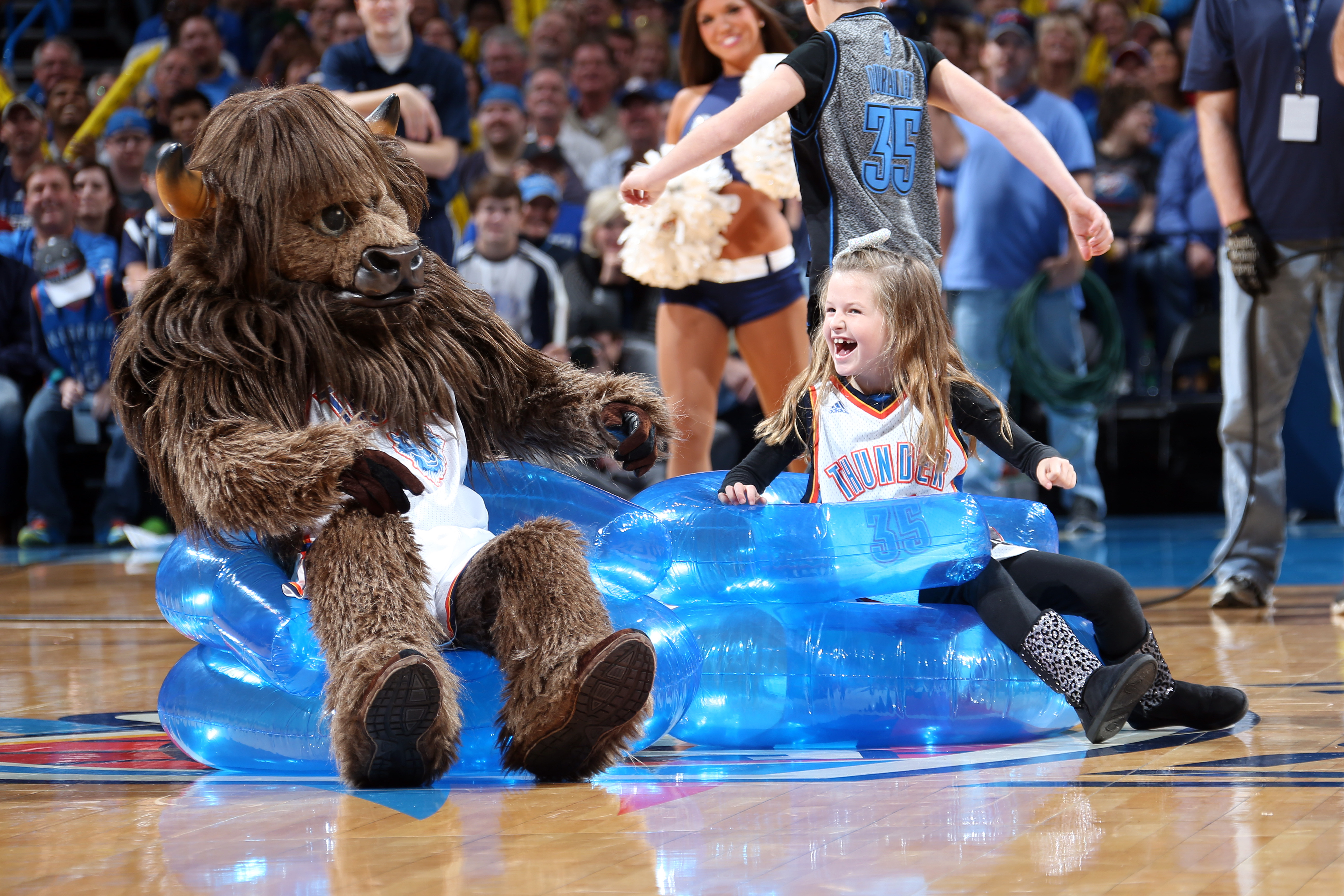 Rumble the Bison (Oklahoma City Thunder)