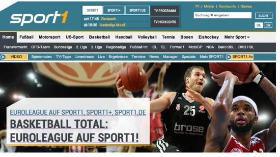 sport1 euro league gewinnspiel