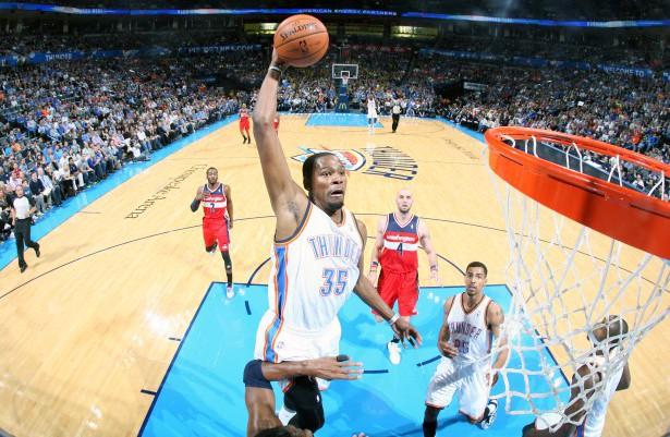 Wird Kevin Durant 2013/14 erstmals MVP? Verdient hätte er es!