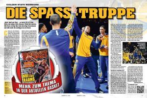 Der Artikel über das Team der Golden State Warriors in der aktuellen BASKET 01/2014.