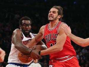Schwerer Stand: Ohne Derrick Rose läuft in der Bulls-Offensive nur wenig zusammen.