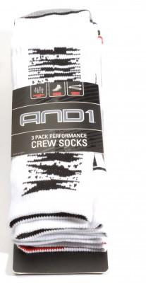 And1-Socken-weiss