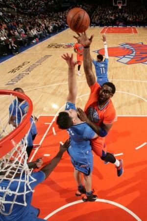 Trotz 22 Punkten von Amare Stoudemire gingen die Knicks gegen OKC unter.
