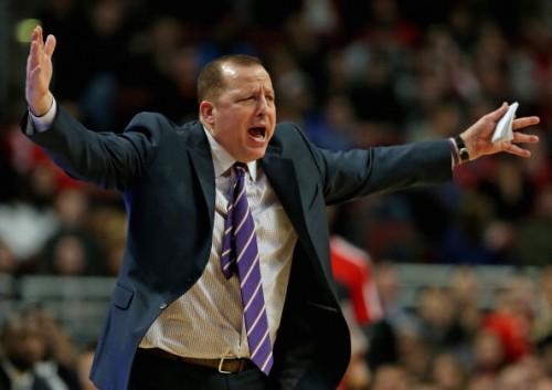 Bulls-Coach Tom Thibodeau war nicht gerade erfreut darüber, seinen vermeintlichen Lieblingsschüler zu verlieren.