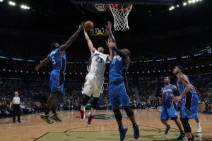 Untermauerte gegen Orlando seine All-Star-Nominierungs-Ansprüche: Anthony Davis.