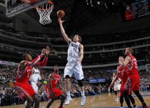 Gegen Houston in All-Star-Form: Dirk legte 38 Punkte und 17 Rebound auf!