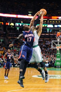 Kam gegen die Boston Celtics 17 Minuten zum Einsatz: Dennis Schröder.