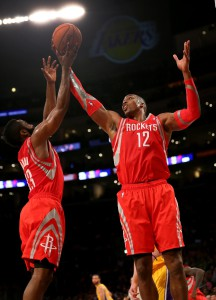 Dwight Howard und James Harden waren beim Sieg der Rockets gegen die Lakers die Sieggaranten.