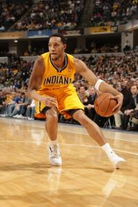 Erlebte ein gutes Debüt im Pacers-Trikot: Evan Turner beim Heimsieg über die Los Angeles Lakers.