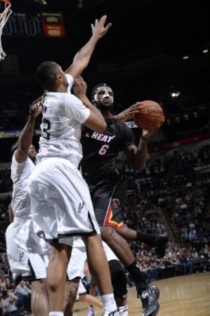 LeBron erzielte im Finals-Rematch nur 19 Punkte.