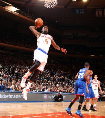 Philadephia 76ers v New York Knicks