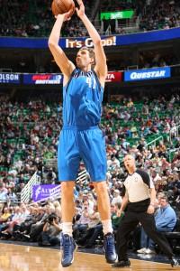Mit 31 Punkten gegen Utah überholte Dirk John Havlicek in der All-Time-Scoring-List.