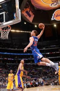Symbolisch: Mittlerweile schauen die Lakers zu den Clippers um Blake Grffin auf.