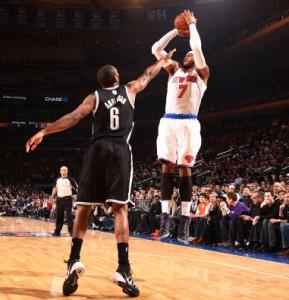 """""""Melo"""" will mit seinen Knicks in New York für klare Verhältnisse sorgen."""