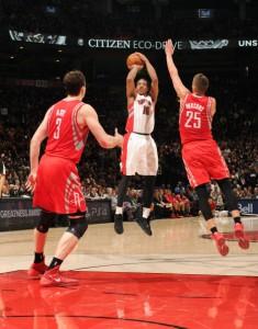 DeMar DeRozan war mit 29 Punkten, sechs Rebounds und vier Assists einmal mehr Matchwinner der Raptors.