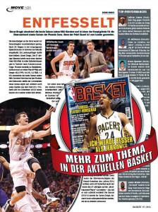 Goran Dragic in der aktuellen BAKSET 05/2014.