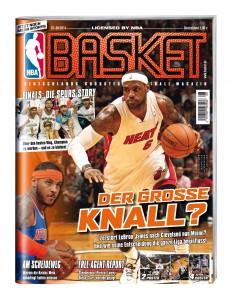 Seit dem 02. Juli im Zeitschriftenhandel: BASKET 07-08/2014.
