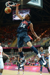 "Nachdem Griffin und Love absagten, ist Anthony Davis nun ""the Man in the Middle"" beim Team USA (Foto: getty)."