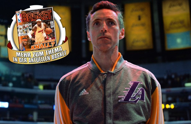 Steve Nash - Washington Wizards v Los Angeles Lakers