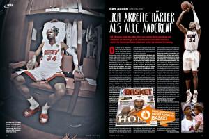Das Interview mit Ray Allen aus BASKET 09-10/2014.