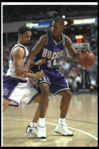 1996 wurde Allen an 5. Stelle von Milwaukee gepickt. (Foto: Getty Images)