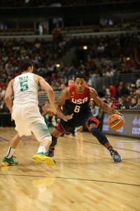 Derrick Rose will mit dem Team USA bei der WM nach Gold greifen.