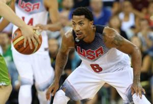Derrick Rose und das Team USA wollen Gold holen. (Foto: Getty Images)