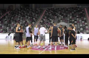 BASKET beim Training des DBB-Teams