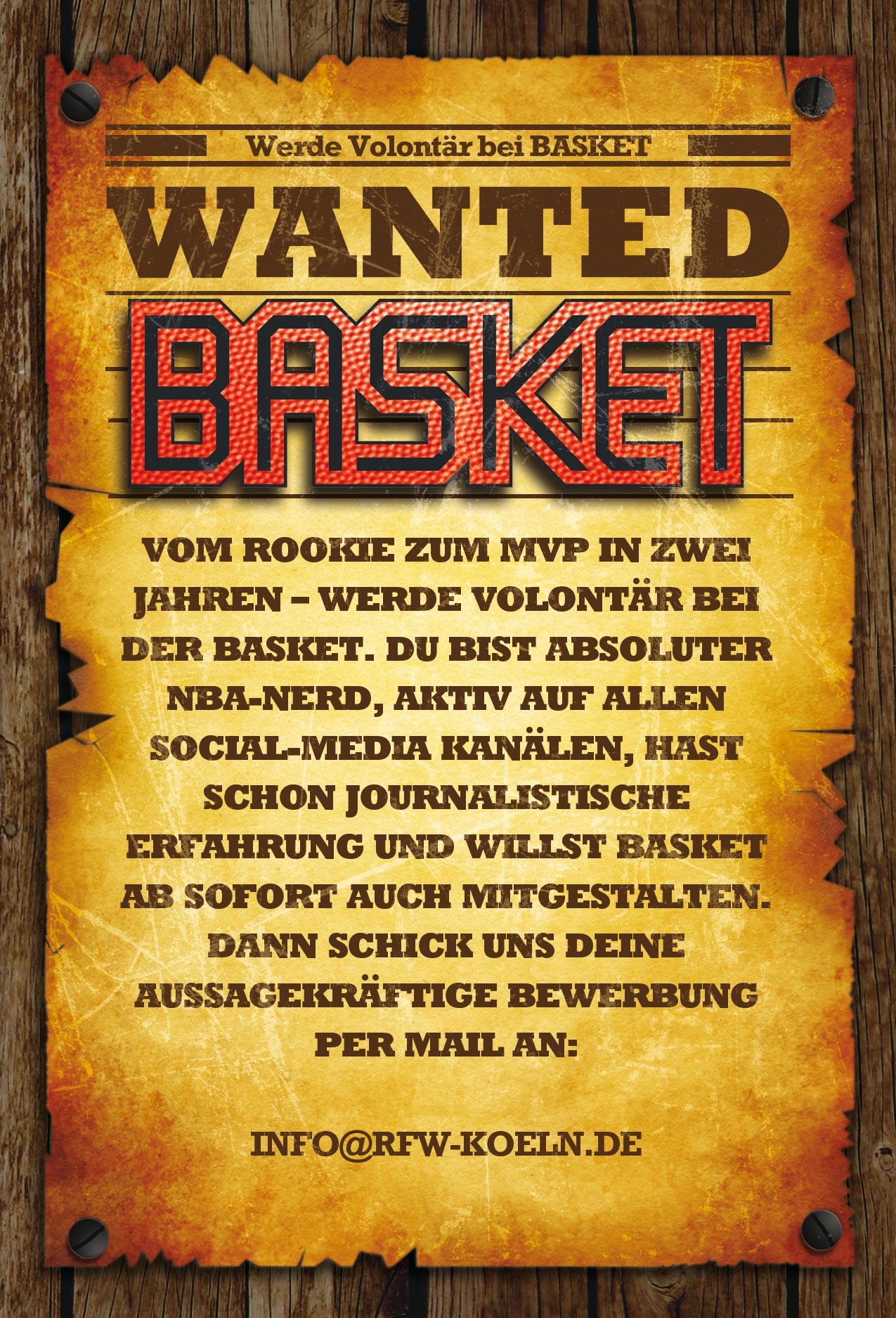 Wanted-BASKET