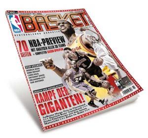 Seit dem 15. Oktobe im Handel: BASKET 11/2014 – das große NBA-Preview-Heft!