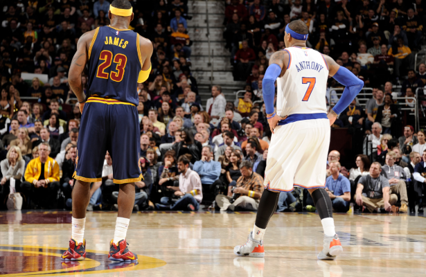 Carmelo Anthony behielt im Superstad-Duell die Oberhand. (Foto: Getty Images)
