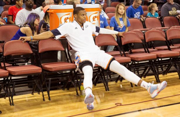 Russell Westbrook droht für vier bis sechs Wochen auszufallen … (Foto: Getty Images)