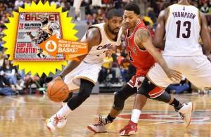 """""""uncle Drew"""" (28 Punkte, sieben Assists) und """"D-Rose"""" (30 Zähler, fünf Rebounds) lieferten sich ein starkes Duell (Foto: Getty Images)."""