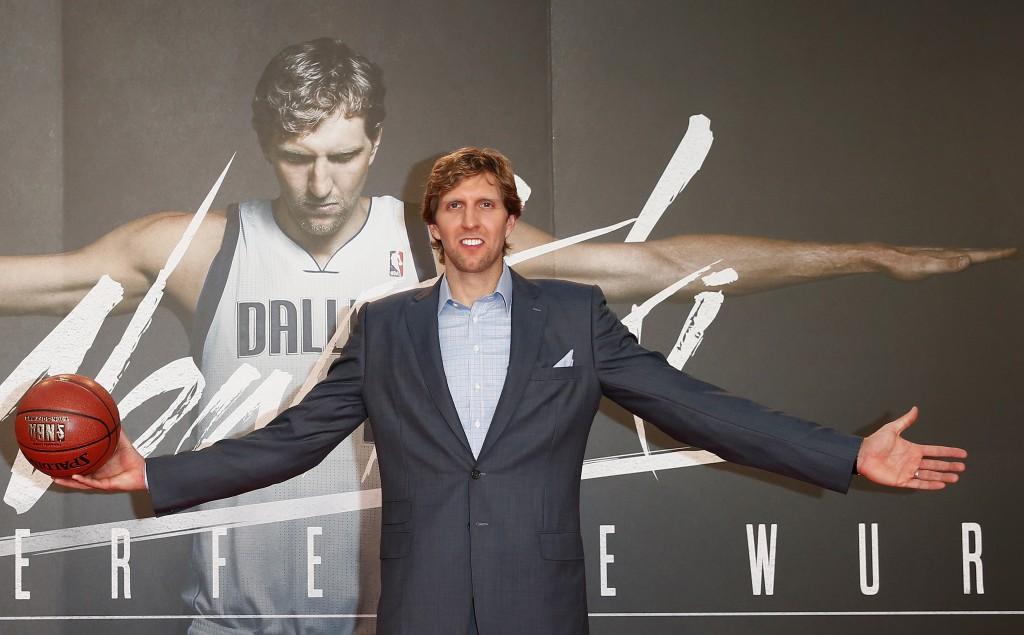 Dirk Nowitzki ist mittlerweile Kino-Star und einer der erfolgreichsten Sportler Deutschlands. (Foto: Getty Images)