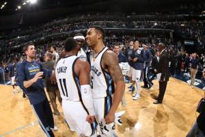 Courtey Lee sorgte mit seinem Gamewinner für Grund zum Jubeln bei den Grizzlies. (Foto: Getty Images)