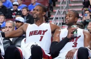 Chris Bosh und Dwayne Wade können's auch ohne LeBron. (Foto: Getty Images)