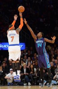 Carmelo Anthony ist der sechstjüngste Spieler der NBA-Geschichte, der die 20.000 Punkte Marke knackt. (Foto: Getty Images)