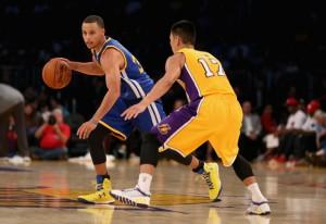 Steph Curry vs. Jeremy Lin.