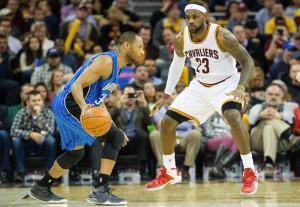 Die Cleveland Cavaliers hielten die Orlando Magic bei 74 Punkten. (Foto: Getty Images)