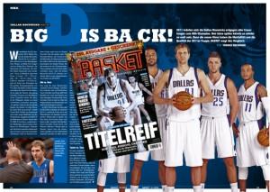 Eine Analyse über die Dallas Mavericks gibt es in der aktuellen BASKET 12/2014.