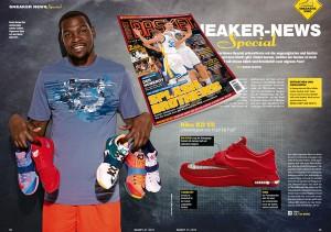In unserem 12-seitigen Schuh-Special stellen wir insgesamt 17 Sneaker vor.
