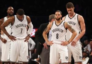 Joe Johnson, Deron Williams und Brook Lopez sollen getradet werden! (Foto: Getty Images)