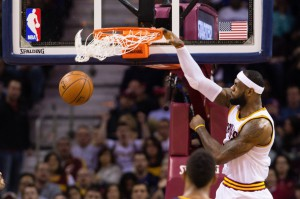 LeBron James traf neun von 15 Würfen. (Foto: Getty Images)