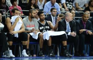 Die Spurs haben vor allem mit Verletzungsproblemen zu kämpfen. (Foto: Getty Images)