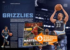 Die Analyse zu den Memphis Grizzlies in BASKET 2/2015.