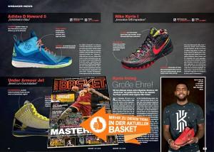 Kyrie Irvings erster Signature-Shoe ist auf dem Markt, BASKET hat ihn getestet!