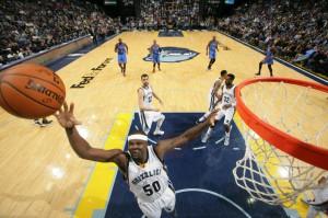 Aktuell Tabellenzweiter der Western Conference: Die Memphis Grizzlies um Zach Randolph!