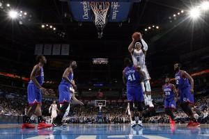 Spielt derzeit auf einem anderen Niveau: Russell Westbrook (Foto: Getty Images)
